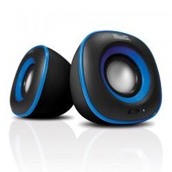 Bocina Klip KES-215A Negro/azul