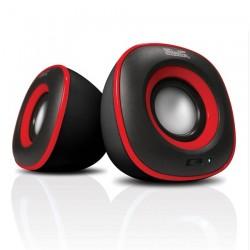 Bocina Klip KES-215R Negro/rojo