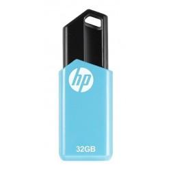 MEMORIA USB HP 32GB CELESTE