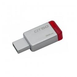 Memoria USB Kingston 32gb Datatraveler50 ROJA