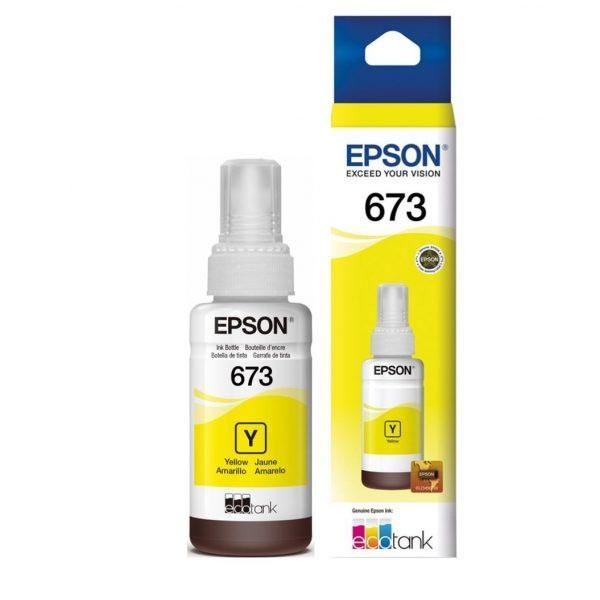 Botella de Tinta Amarillo  Epson 673