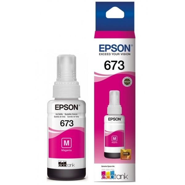 Botella de Tinta Magenta Epson T673