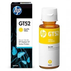 Botella de Tinta HP GT52 Amarillo Original